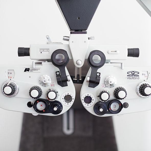 Stehtest Augenarzt
